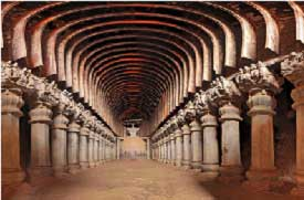 Chaitya Hall at Karla Caves